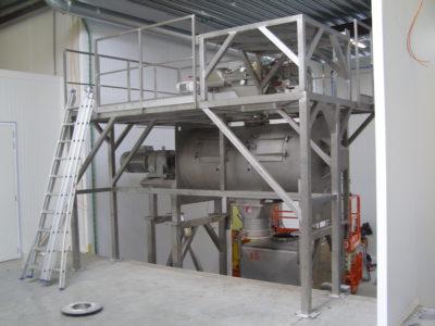 Constructies in inox en aluminium
